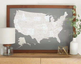 United States Map Etsy - Us map of states i ve been to