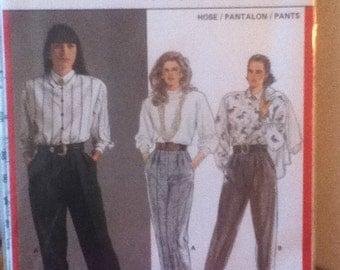 Burda Pants Pattern 5300  Size: 10-20