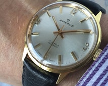 Elegant Ermano 1960 vintage Swiss watch with quality Cal.1686 17 Jewel movement.