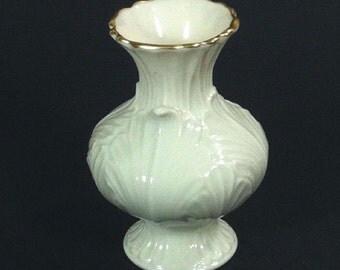 Lenox Porcelain Vase Acanthus Leaf