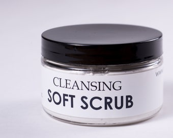 Cleansing Soft Scrub, 6 ounces