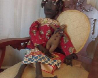 Old Folk Lore doll