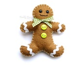 RicRac Gingerbread Man
