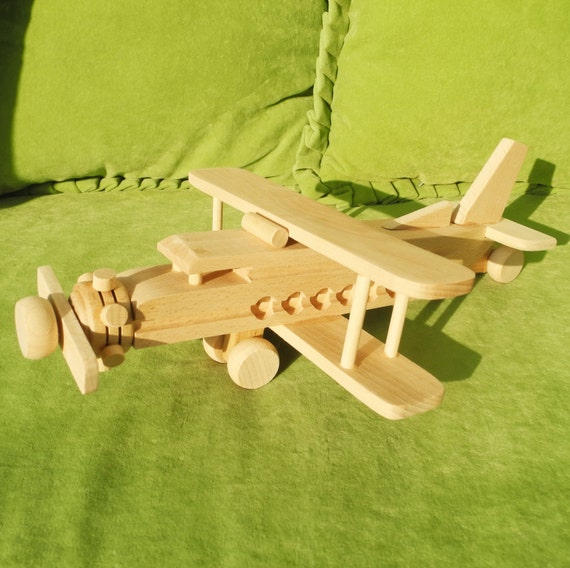 Wooden Toys For Boys : Toys for boys airplane boy girl kid wooden kids