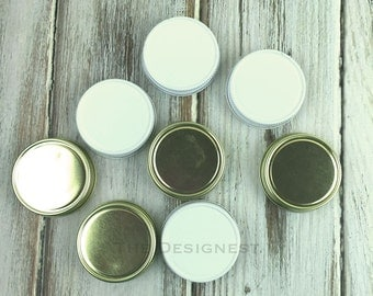 Mini Mason Jar Lids, Mini Mason Jar Shot Glass Lid, Lids for Mini Mason Jars, Mini Mason Jar, Mini Mason Jar Shot Glasses, Mini Mason Jars