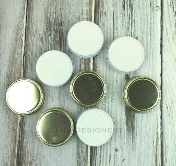 mini mason jar lids mini mason jar shot glass lid by lalaconfetti. Black Bedroom Furniture Sets. Home Design Ideas
