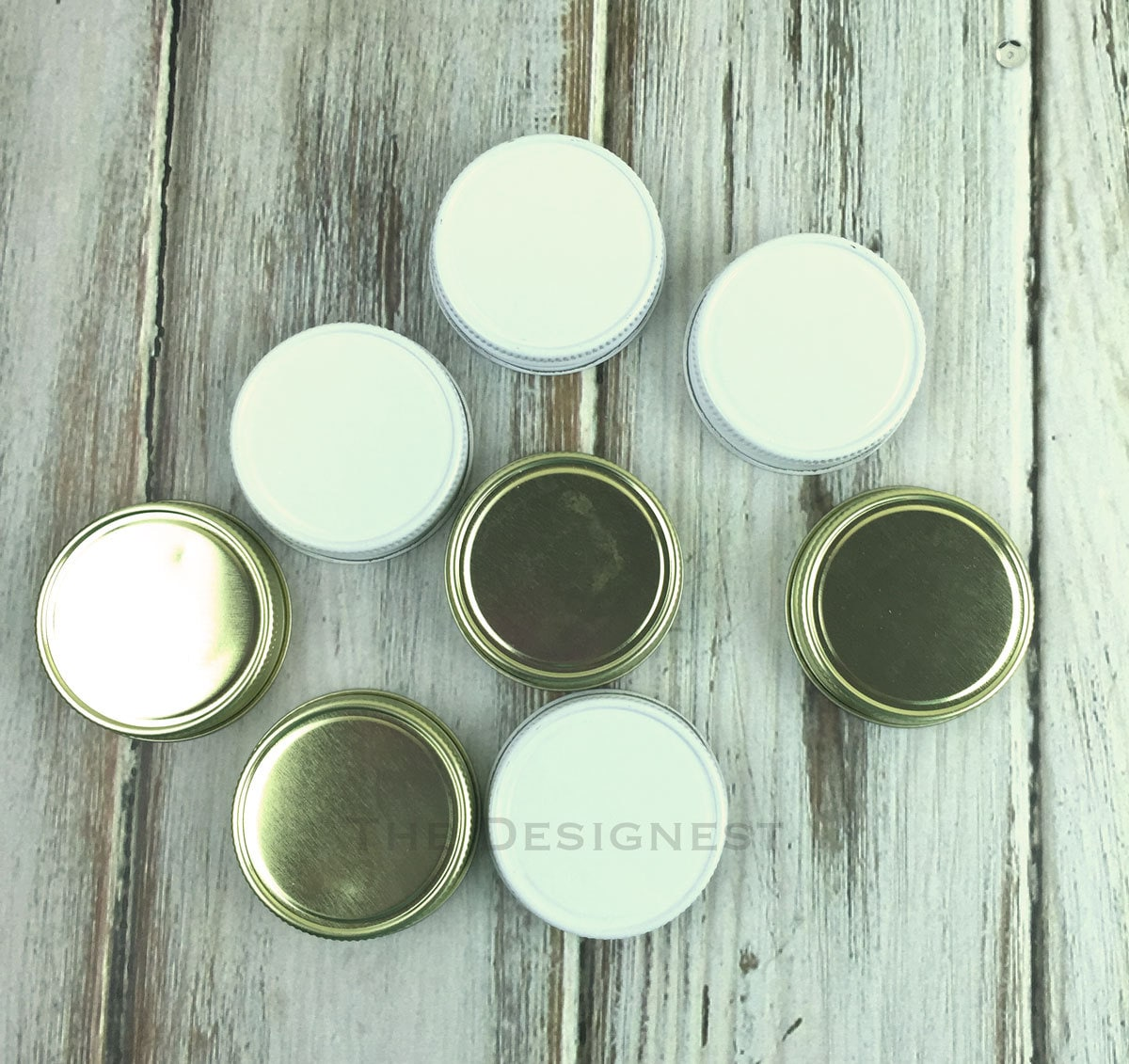 mini mason jar lids mini mason jar shot glass lid by lalaconfetti. Black Bedroom Furniture Sets. Home Design Ideas