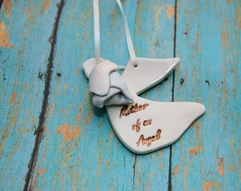 Infant Loss Ornament, Angel Baby Ornament, Miscarriage Ornament, Baby Memorial, Infant Loss Memorial, Child Memorial, Guardian Angel