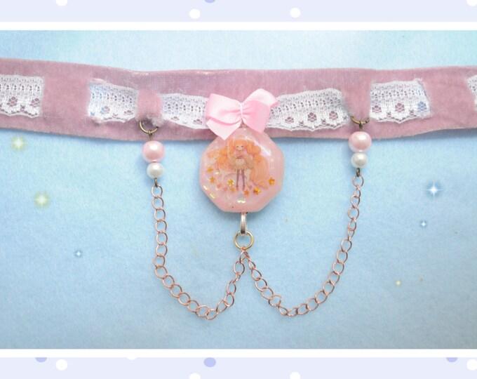 Kawaii Sweet Lolita Pink Choker