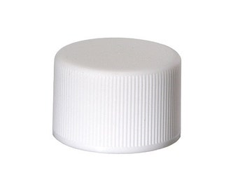 White Non-Dispensing Cap 24/410 - 10 Pack