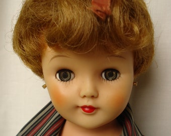 "20"" fashion doll, mid century,nice color, priced to sell"