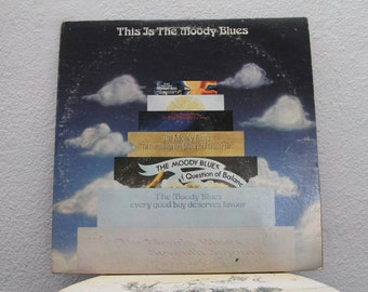 """The Moody Blues - """"This Is The Moody Blues"""" vinyl records, 2 LPs"""