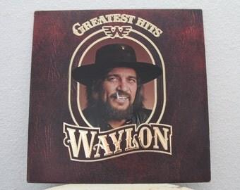 """Waylon Jennings - """"Waylon Greatest Hits"""" vinyl record"""