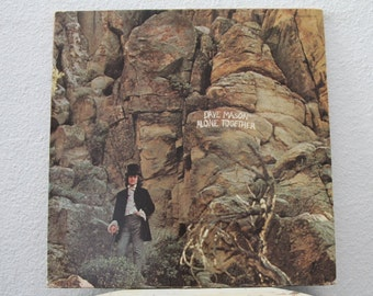 "Dave Mason - ""Alone Together"" vinyl record, Multicolor Splatter Vinyl"