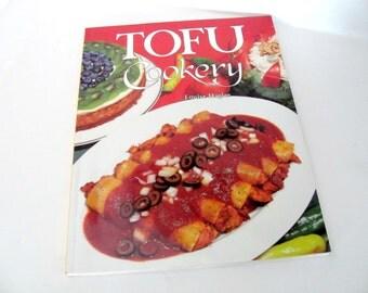 Vintage Tofu Cookbook, 1990's Tofu Cookery, Tofu Recipes, Vegetarian Cookbook, Recipes