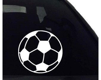 Silhouette Decal Etsy - Soccer custom vinyl decals for car windows