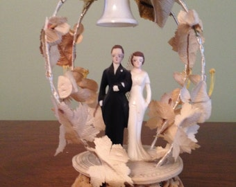 Old Wedding Cake Topper