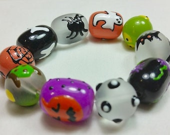 Pumpkin Surprise Halloween Bracelet