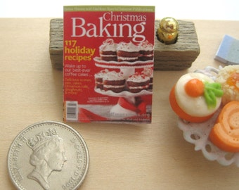 dollhouse magazine baking  12th scale miniature