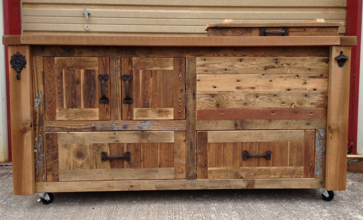 custom reclaimed or barnwood furniture bar cabinets wooden zoom