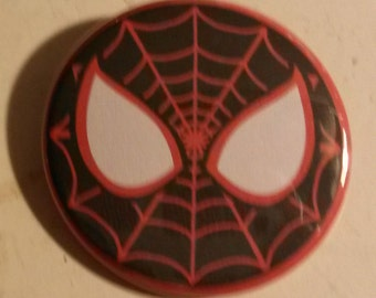 1.75in Miles Morales Face Button