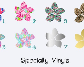 Add a Specialty Vinyl to your Order!
