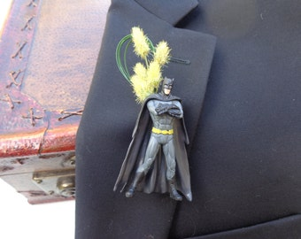 Batman boutonniere