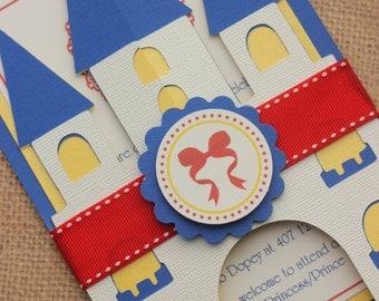 20x Snow White Invitations with Envelope