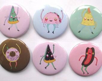 Food Friendly Pick n' Mix Badge Packs!