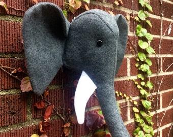 Elephant Faux Taxidermy