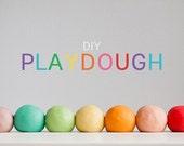 DIY Gluten Free Natural Plant Color Play Dough Mix - Waldorf Playdough - The Original MrsCsGlutenFree 8oz - Christmas DIY toy Play Clay