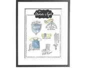 """Armor of God - Watercolor Effect - INSTANT DOWNLOAD - 8""""x10"""" Printable Art"""