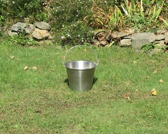 Sweet Stainless Steel Pail