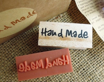 Rubber Stamp Hand Made Wooden Craft Decoration