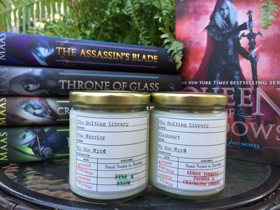 Throne of Glass inspired candles - 9 Candles Every Book-Loving Pyro Needs
