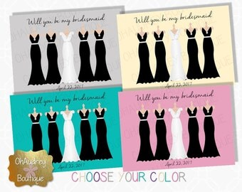 Will you be my bridesmaid (dresses)