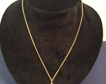 Good toned chain necklace 18 in