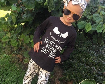 Fast FREE US Shipping! Nightmare Before Nap Time™ Ready to Ship long sleeve solid T shirt tee Fast Free Shipping!
