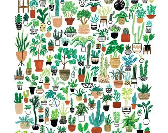 Plant Party Print