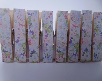 Mini Pegs Clothespin Magnets Magnetic Cath Kidston Variety
