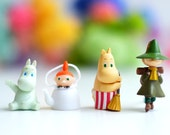 1 pcs / Decoden / PVC / Moomin Valley / Little My / Dollhouse / Miniature / Figurine / 3-4CM / EU287
