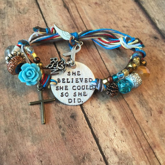 Nurse Bracelet/ nurse graduation/ RN gift/ live-love-heal/ Personalized, Hand-Stamped Jewelry