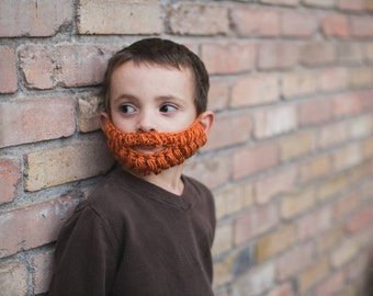 Crochet Beard Pattern. Instant digital download. CP402B
