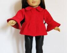 "Handmade Doll Clothes Corduroy Jacket & Pants Fit 18"" American Girl Dolls Handcraft JP-1"