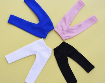 """4 Handmade Doll Clothes Leggings Tights Fits 13"""" Corolle Les Cheries Dolls Handcraft B"""
