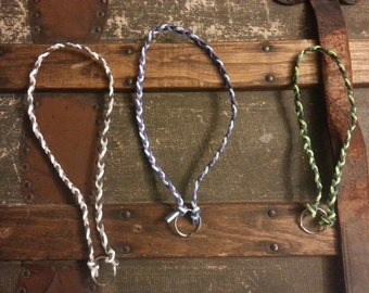 Suede String Necklace for Dogs Mutiple Colours