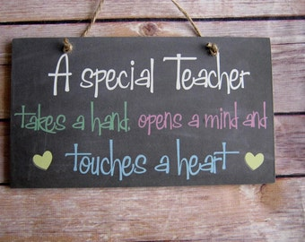 Handmade Special Teacher Thank you- Christmas-Leaving gift