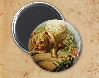 Alice in Wonderland Giant Puppy Magnet