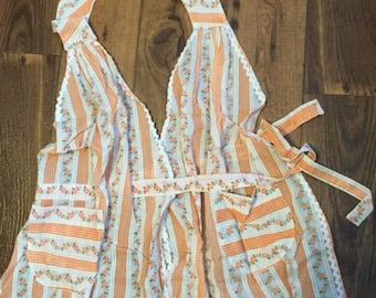 Woman's vest type apron