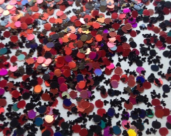 Mickey's Halloween Town- Glitter Mix- Solvent Resistant  - Nail Glitter - SAMPLE to 2 oz